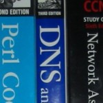 Some of my computer books.